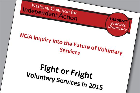 NCIA report – Fight or Flight: Voluntary Services in 2015