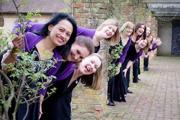 North London Military Wives Choir (Photo credit: Helen Holt Photography)