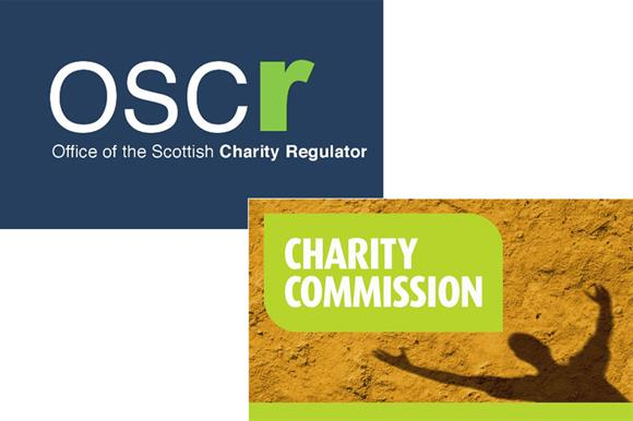 The Office of the Scottish Charity Regulator and the Charity Commission