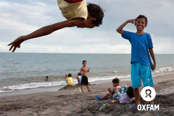 Oxfam's annual report