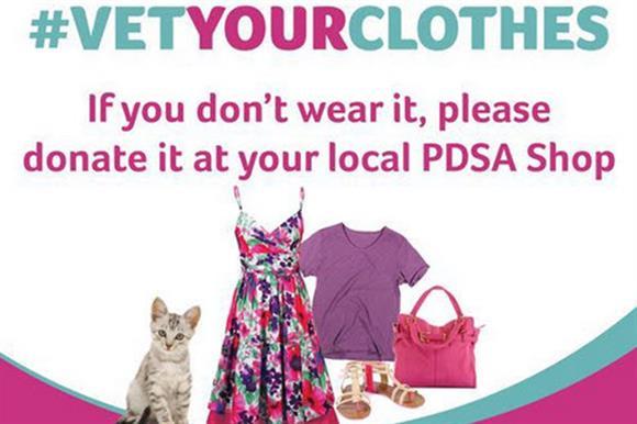 PDSA's Vet Your Clothes campaign
