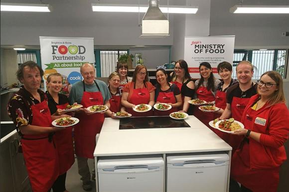Brighton & Hove Food Partnership, a People's Postcode Lottery-funded project