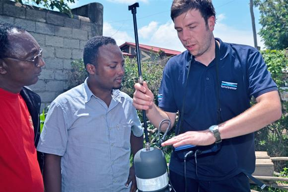 Company's link with WaterAid