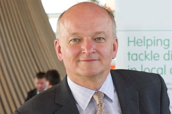 Paul Streets, chief executive of the Lloyds Bank Foundation