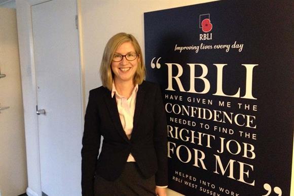 Emma Nugent, programme lead for fundraising, RBLI