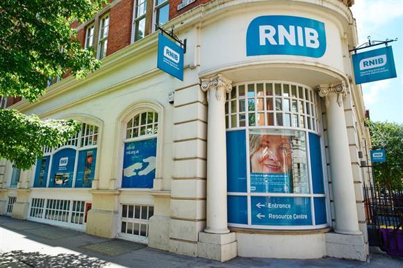 The RNIB's London headquarters