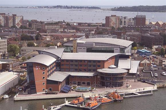 RNLI headquarters in Poole, Dorset