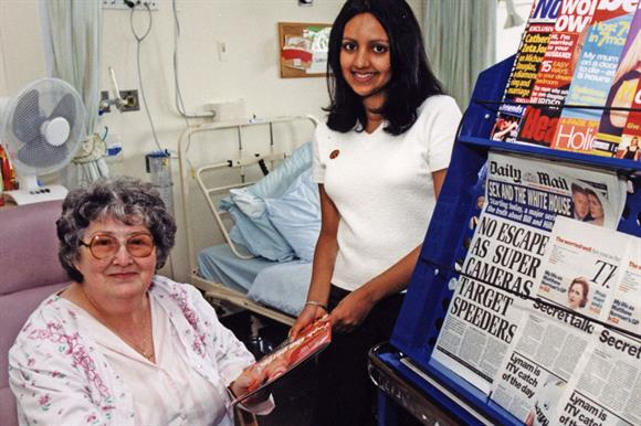 RVS volunteer in a hospital