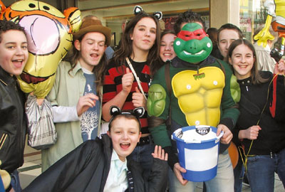 The initiative is aimed at students who have taken part in fundraising activities such as rag weeks