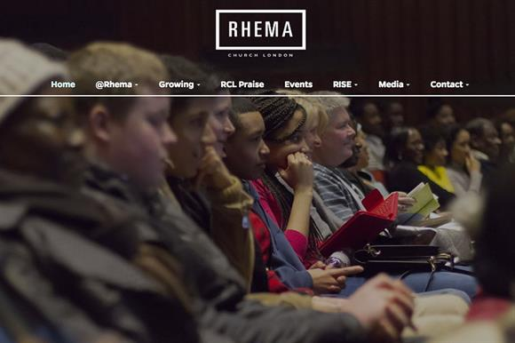 Rhema Church London website