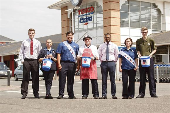 Collecting for Diabetes UK