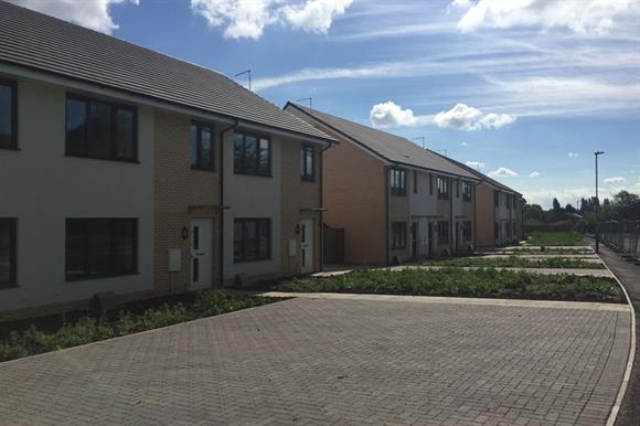 After: the project led to environmentally friendly social housing