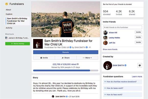 Digital Round Up Sam Smiths Facebook Birthday Wish
