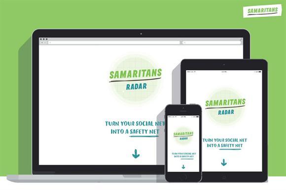 Samaritans Radar app