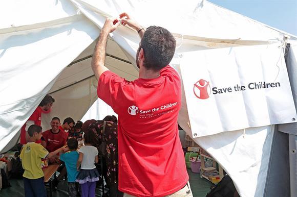 Save the Children International (Photograph: Elisabetta Baracchi/EPA/Shutterstock)