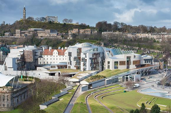 Scottish parliament (Photograph: Getty Images)