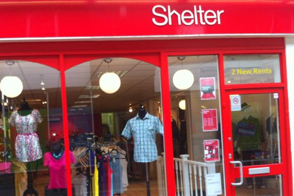 A Shelter shop