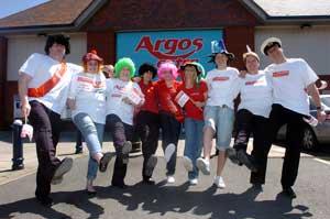 Argos staff at Shrewsbury