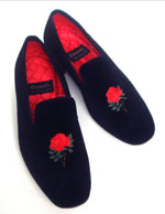 Mitterrand's slippers: sold for €1,000