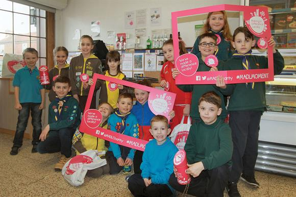 Fundraising: MADL helps many local projects, including Scout groups