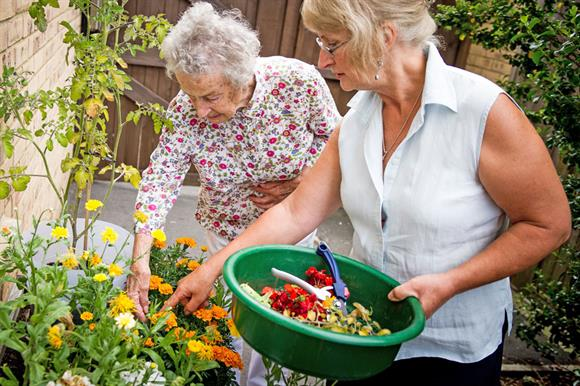 Growing Support helps residents improve gardens at care homes