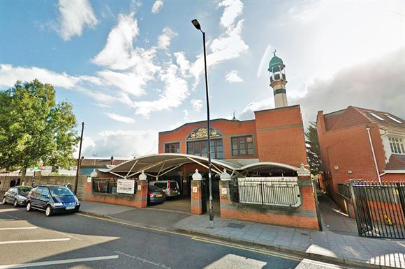 The mosque in Southall