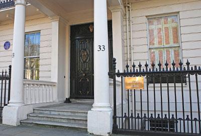 33 Belgrave Square, London