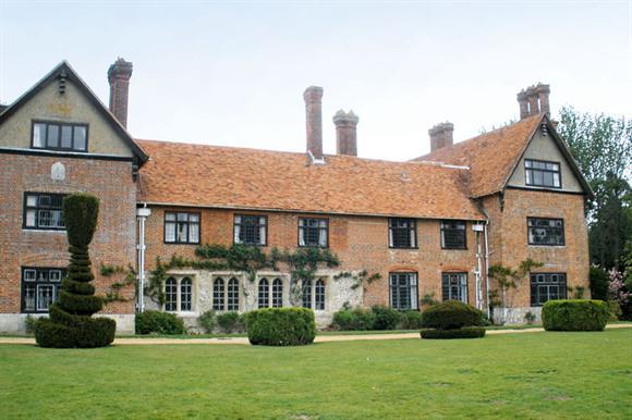 The former Stanbridge Earls School in Romsey, Hampshire