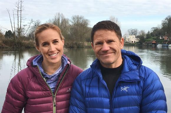 Helen and Steve Backshall
