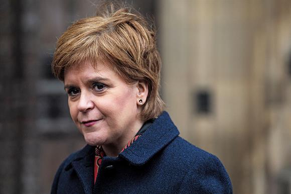 Nicola Sturgeon (Photograph: Jack Taylor/Stringer/Getty Images)