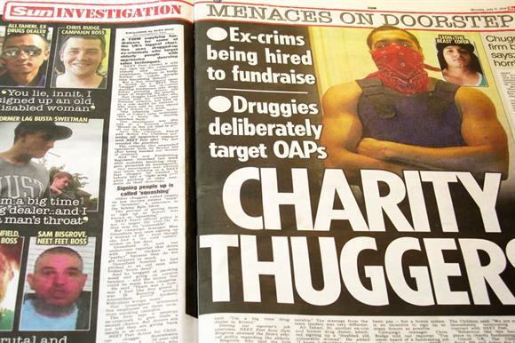 The Sun's coverage