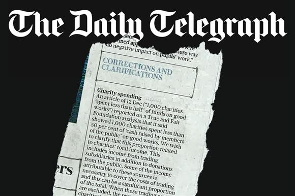 The Telegraph correction