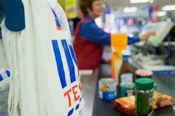 Tesco is looking for charity partners to receive £1.8m from its carrier bag levy