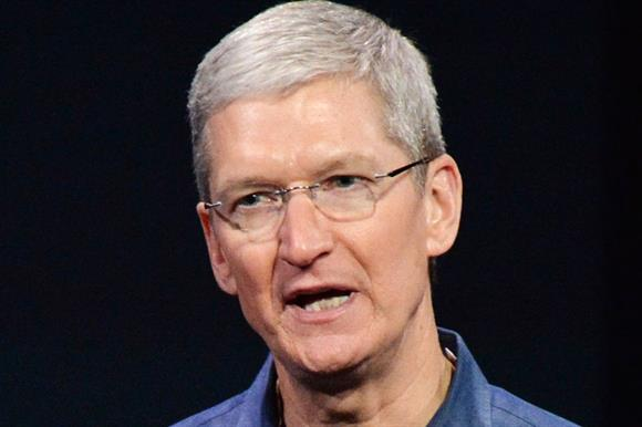 Tim Cook (photo credit: Aflo/REX)