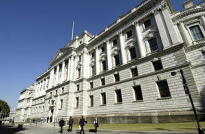 The Treasury: publishing its review of the third sector later this month