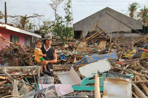 Typhoon Haiyan in the Philippines
