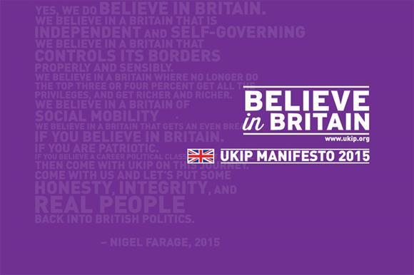 The UK Independence Party manifesto
