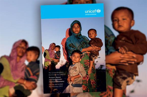 Unicef UK annual report