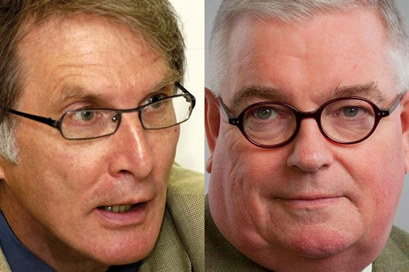 David Walker, left, and John Tizard