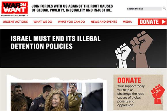 War on Want: denied allegations