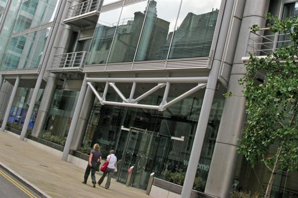 The Wellcome Trust building in London