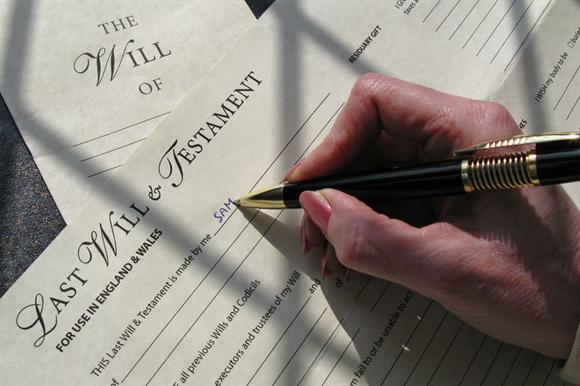 Rate of growth of income from wills is slowing