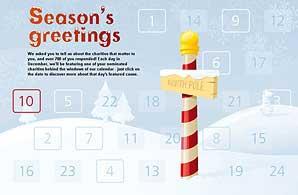Advent calendar: Will raise awareness of lesser-known charities