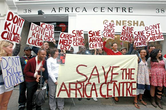 Campaign to save the Africa Centre in Covent Garden