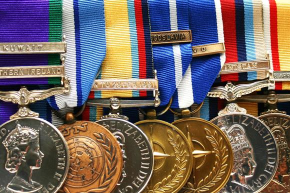 Armed forces charities were the main beneficiaries