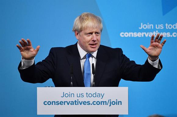 Boris Johnson will become Prime Minister tomorrow (Photograph: Jeff J Mitchell/Getty Images)