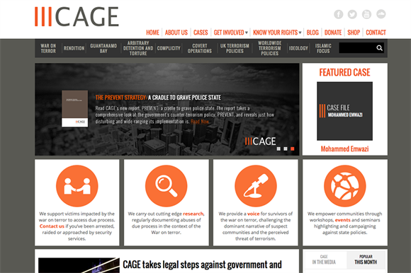 Cage: seeking legal advice
