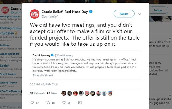 Comic Relief on Twitter