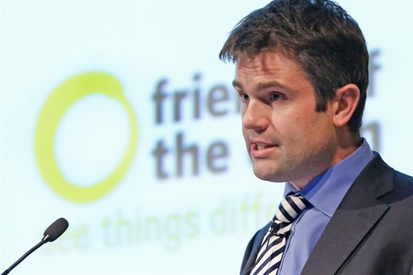 Craig Bennett, chief executive of Friends of the Earth