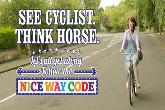 The Cycling Scotland advert